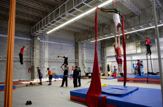 Centre d'entraînement de La Central del Circ, à Barcelone.