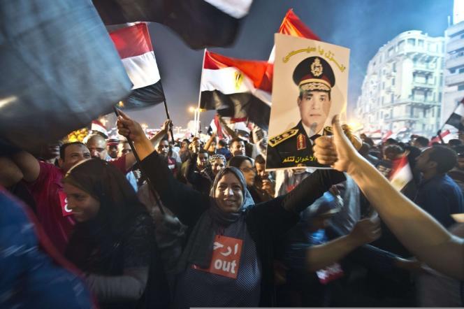 Place Tahrir, le 3 juillet.