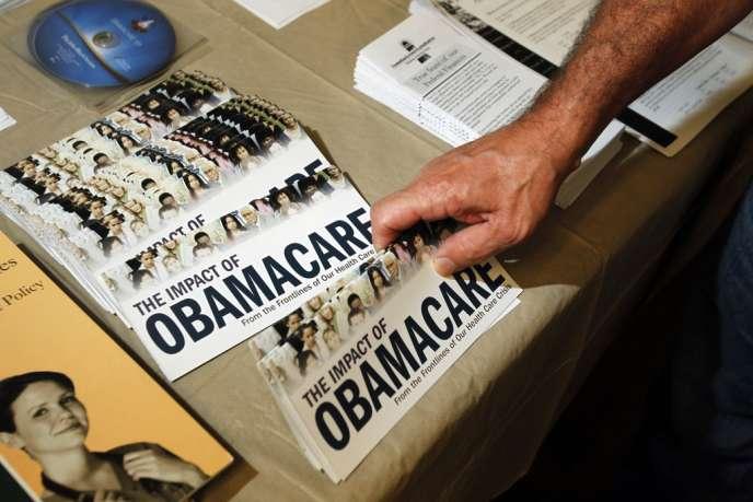 L'obsession des discours conservateurs contre l'Obamacare a atteint des sommets d'incohérence.