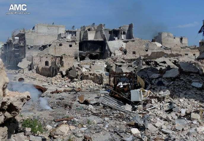 A Alep, le 30 juin.