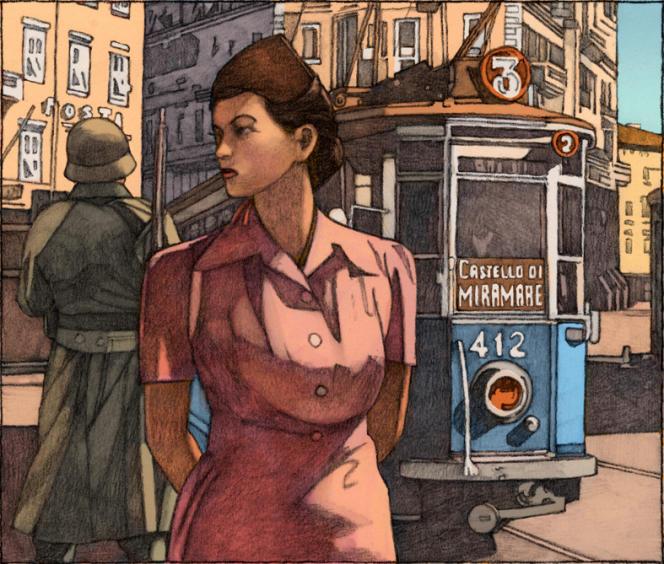 Illustration de Miles Hyman pour