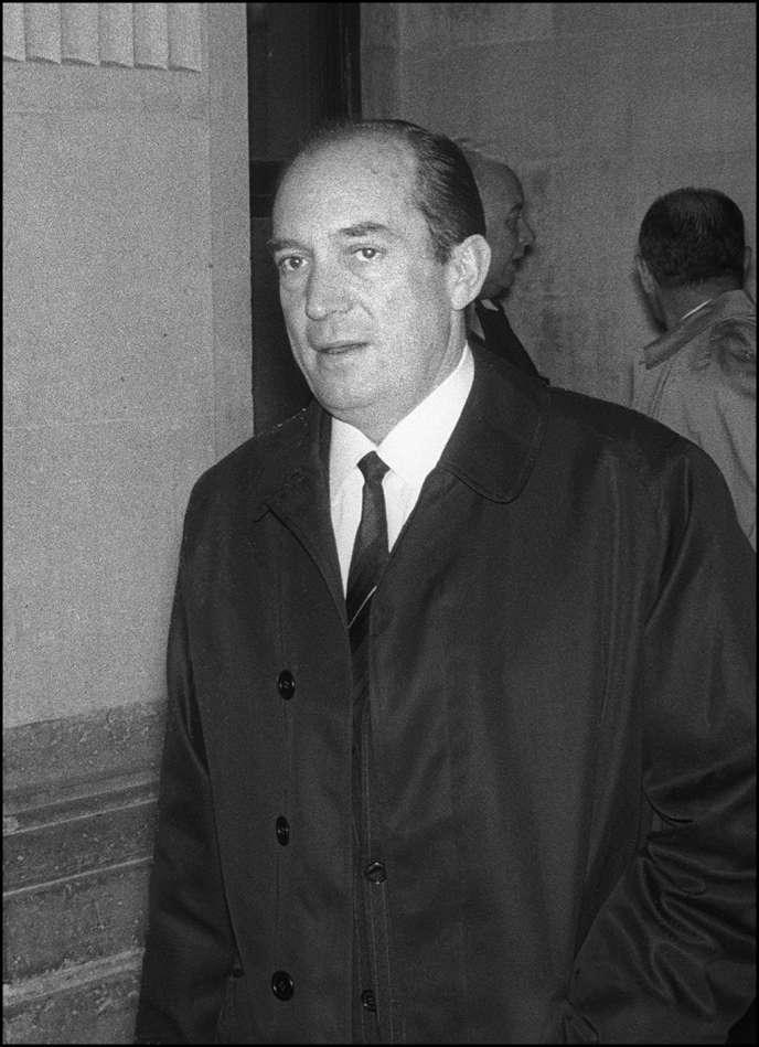 Marcel Le Roy-Finville, chef du service au SDECE (service de contre espionnage français, aujourd'hui DGSE) des années 1950, un des initiateurs de l'espionnage à la française.