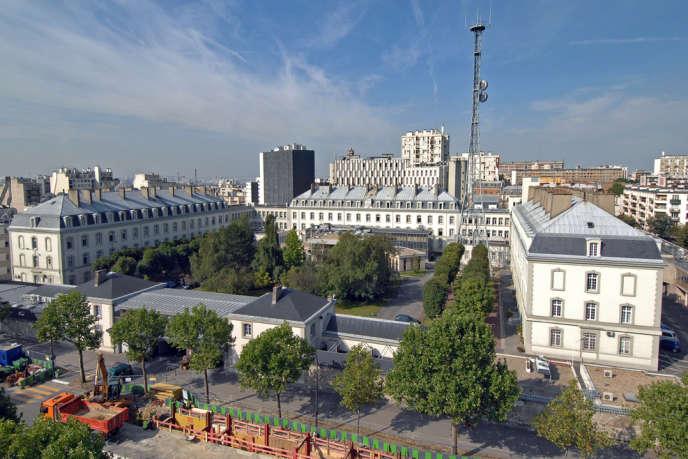 Le siège de la DGSE, boulevard Mortier, à Paris.