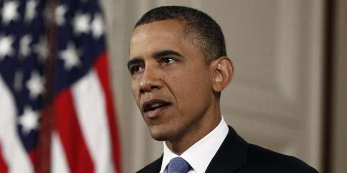 Le président américain Barack Obama, le 28 juin 2012 à Washington.