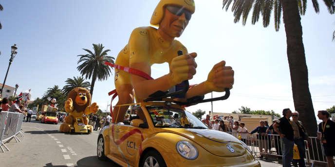 La caravane publicitaire du Tour 2013.