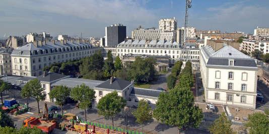 Le siège de la Direction générale de la sécurité extérieure, à Paris, boulevard Mortier.