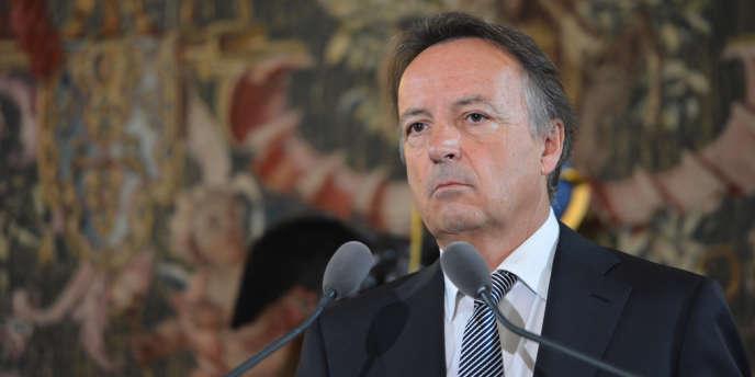Le président du Sénat Jean-Pierre Bel en 2012.