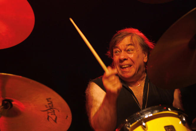 Christian Vander, en concert à Nice en 2009.