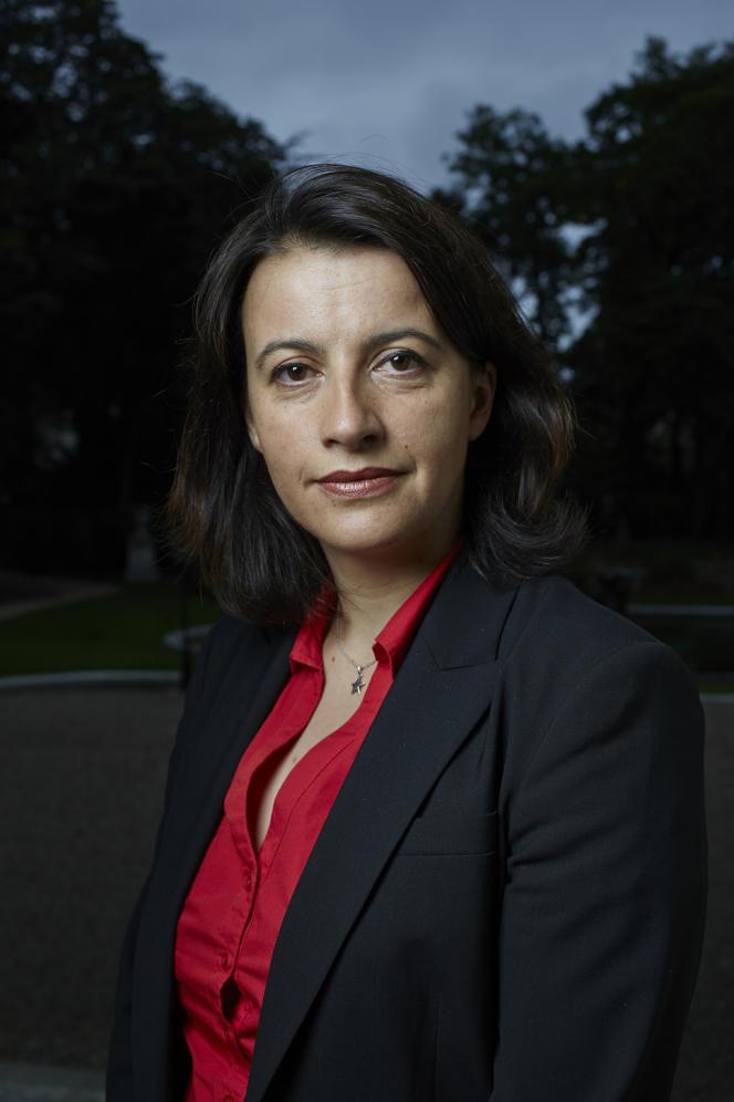 Cécile Duflot, ministre EELV du logement, à Paris, le 3 juillet.