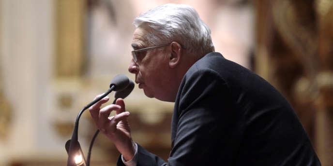 Jean-Pierre Sueur, le président de la commission des lois du Sénat, le 4 avril.