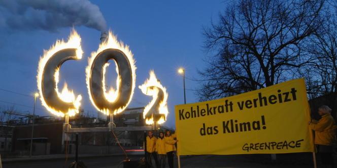 Le gel de quotas de CO2 proposé par la Commission de Bruxelles est jugée inutile par Greenpeace.