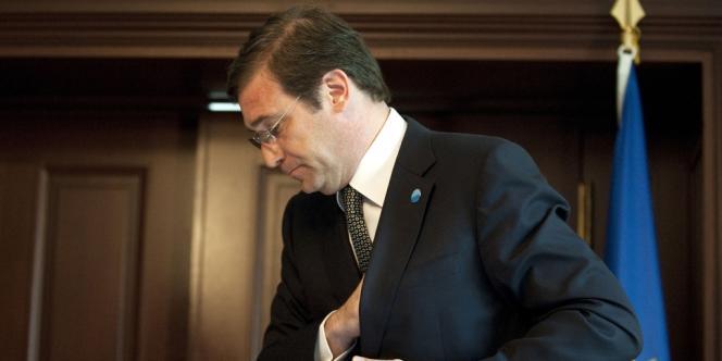 Le premier ministre du Portugal Pedro Passos Coelho, en juillet 2013