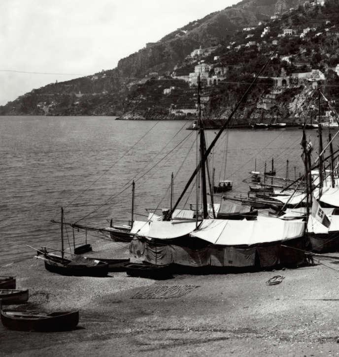 Amalfi a été le port le plus actif de tout l'Occident pendant quelques décennies, au tournant du Xe et du XIe siècle.