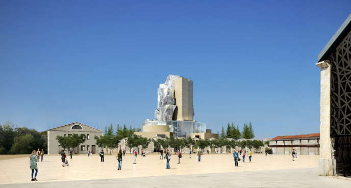Le parc des Ateliers, un projet de l'architecte Frank Gehry à Arles.