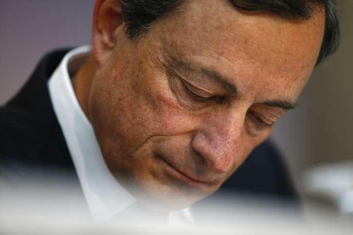 Le 4 juillet, Mario Draghi avait dévoilé que les taux directeurs de la BCE resteraient bas