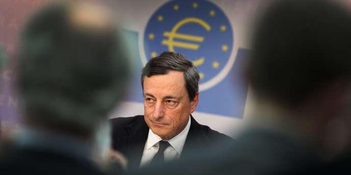 Mario Draghi, le président de la BCE, le 4 juillet.