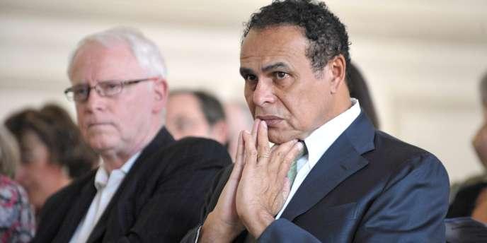 Léon Bertrand a été condamné dans une affaire d'attribution illégale de marchés publics en Guyane.