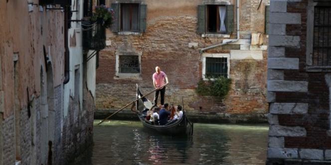 Les gondoles à Venise.