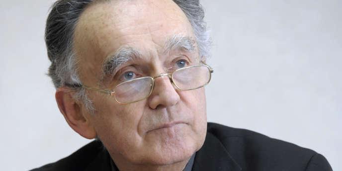 Georges Pontier, président de la conférence des évêques de France.