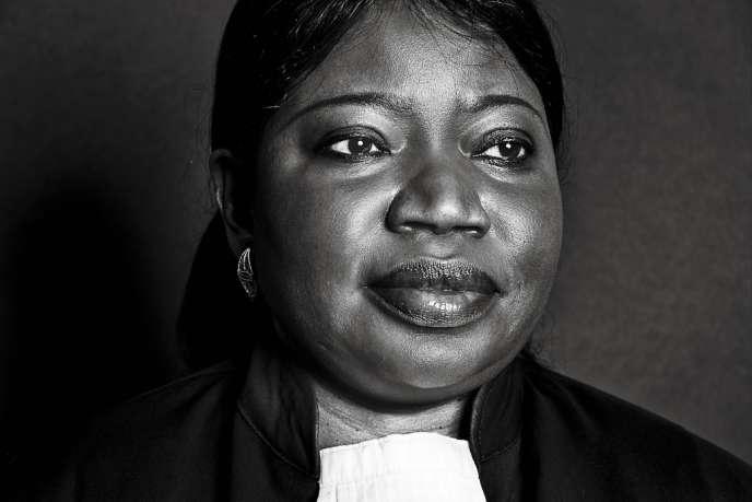 Fatou Bensouda à la Cour pénale internationale de La Haye, le 21 mai 2013.