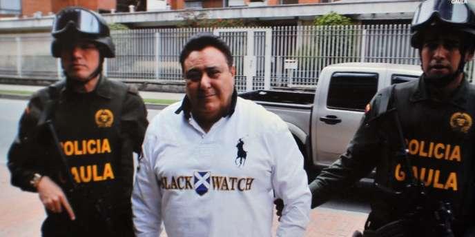 Roberto Pannunzi, le 6 juillet à Bogota.