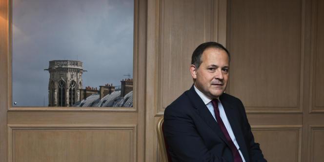Benoît Coeuré, membre du directoire de la BCE, à Paris le 5 juillet 2013.