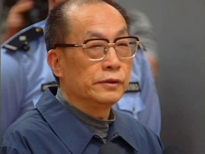 M. Liu était accusé d'avoir touché 64,6 millions de yuans en pots-de-vin de 1986 à 2011, en échange de promotions ou d'attributions de contrat.