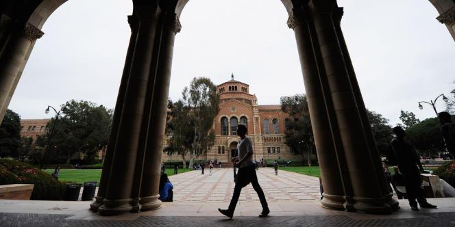 Le campus d'UCLA, à Los Angeles, en Californie.