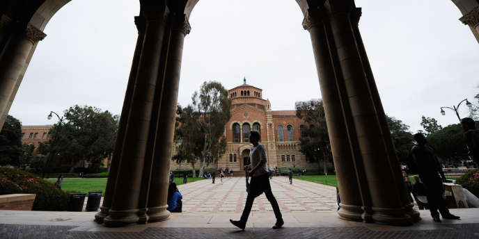 Le campus d'UCLA, à Los Angeles, en Californie.