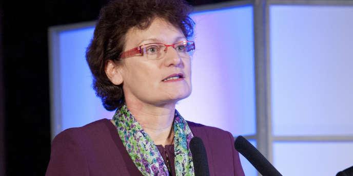 Marie-Claude Dupuis, directrice générale de l'Agence nationale pour la gestion des déchets radioactifs (Andra).