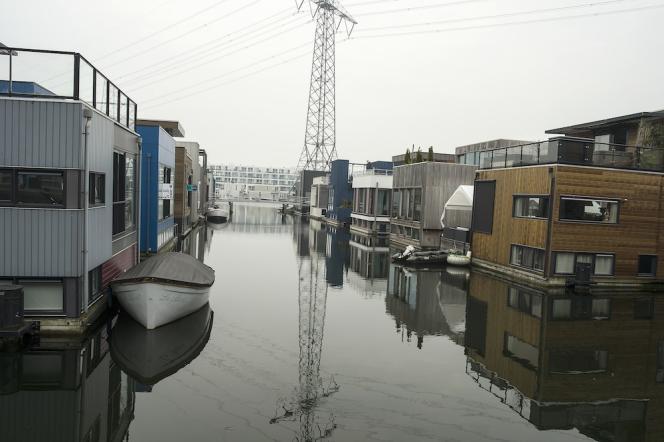 Houseboats, Ijburg, Amsterdam  June 2013