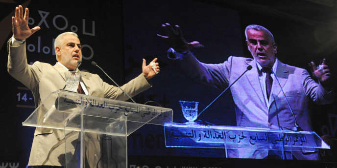 Abdelillah Benkirane, le chef du gouvernement marocain à Rabat, le 14 février 2012.