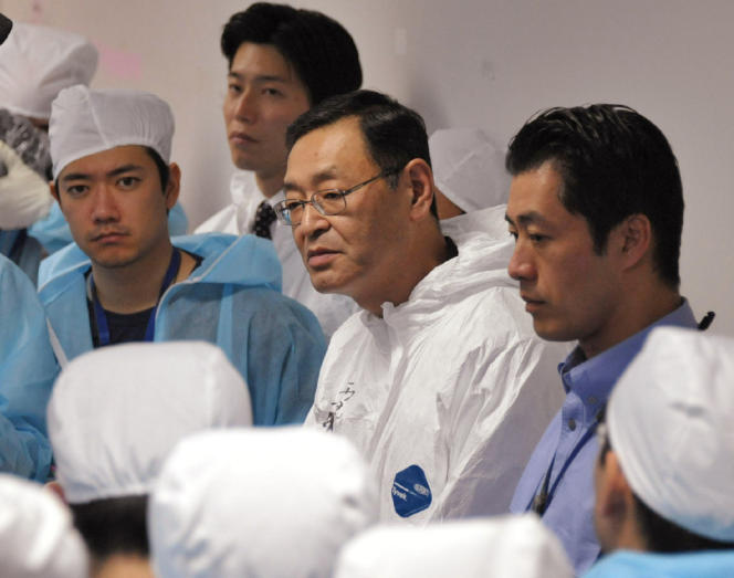 Masao Yoshida, l'ancien directeur de la centrale de Fukushima, le 12 novembre 2011.