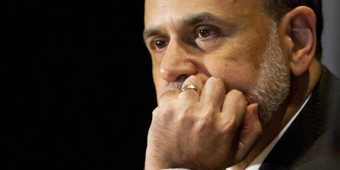 Ben Bernanke, le président de la Réserve fédérale américaine, en juillet 2013.