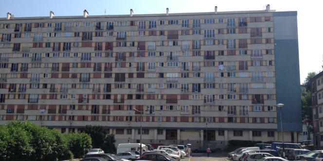 La cité du Chêne-Pointu, à Clichy-sous-Bois (Seine-Saint-Denis).