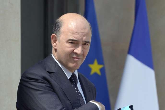 Le ministre des finances Pierre Moscovici, en juillet 2013.