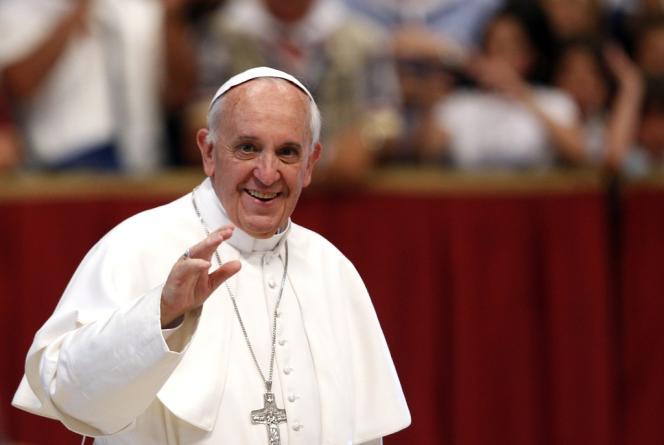 Le pape François à la basilique Saint-Pierre de Rome, le 22 juin.