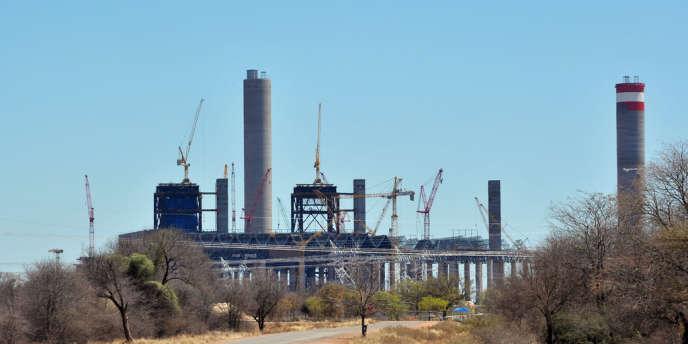 La centrale thermique de Medupi, en Afrique du Sud, en 2011.