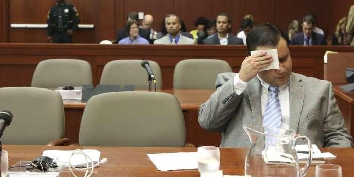 Au tribunal de Sanford (Floride), George Zimmerman plaide