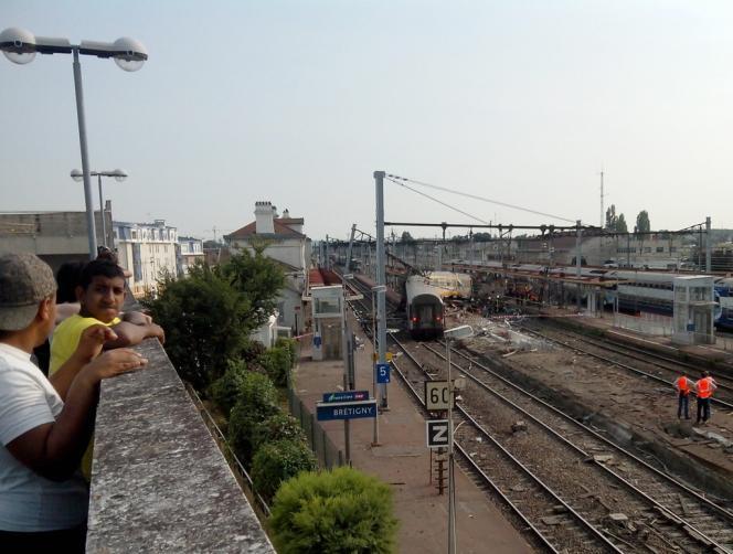 L'accident ferroviaire survenu à Brétigny-sur-Orge (Essonne) a coûté la vie à sept personnes.