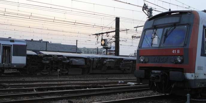 Gare de Brétigny (Essonne).