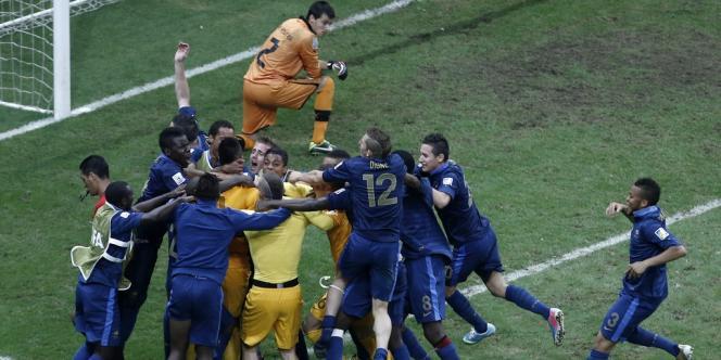 La France est le premier pays européen à remporter la compétition depuis l'Espagne en 1999.