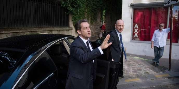 Nicolas Sarkozy, le 8 juillet à Paris.