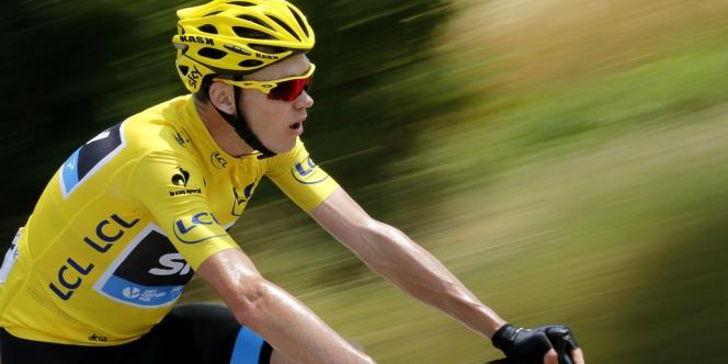 Le britannique Christopher Froome a remporté l'étape la plus longue du Tour, confortant sont statut de maillot jaune, dimanche 14 juillet.