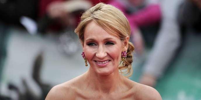 J. K. Rowling, en juillet 2011, à la première de la version filmée de son livre «Harry Potter et les reliques de la mort».