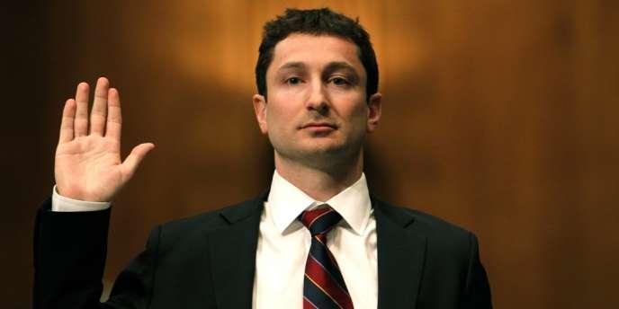 L'ex-trader de Goldman Sachs Fabrice Tourre en 2010.