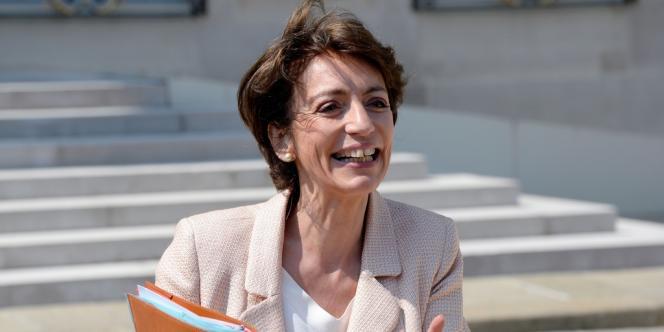 Marisol Touraine à l'Elysée, le 10 juillet.