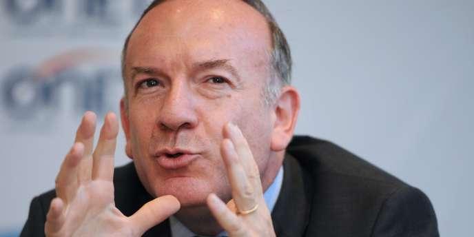 Le président du Medef, Pierre Gattaz, à Marseille, le 15 juillet.