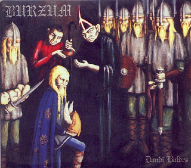 La couverture d'un album de Burzum sorti en 1997 alors que Kristian Vikernes était en prison.