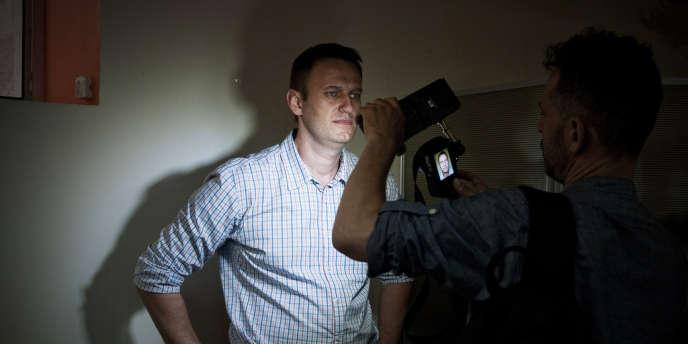 Moscou, le 15 Juillet, au siège d'Alexei Navalny.